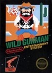 Complete Wild Gunman Light Gun Game - NES