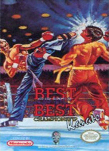 Complete Best of The Best:Champ. Karate - NES