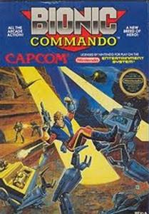 Complete Bionic Commando - NES