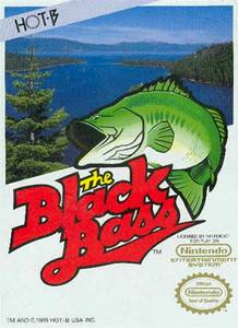 Complete Black Bass,The - NES