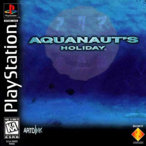 Aquanaut's Holiday Video Game For Sony PS1