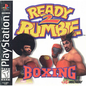 Complete Ready 2 Rumble Boxing - PS1 Game