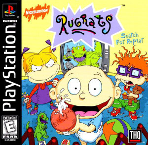 Complete Rugrats: Search For Reptar - PS1 Game