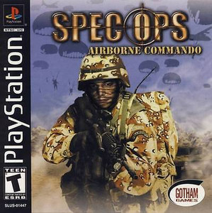 Complete Spec Ops: Airborn Commando - PS1 Game