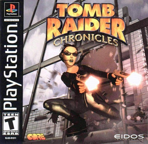 Complete Tomb Raider Chronicles - PS1 GameComplete Tomb Raider Chronicles - PS1 Game