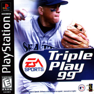 Complete TRIPLE PLAY 99 - PS1 Game