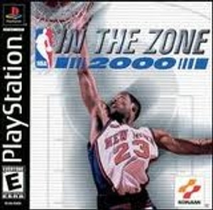 NBA In the Zone 2000 - PS1 Game