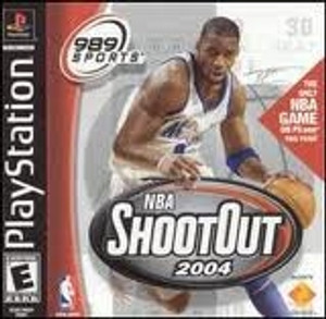 NBA Shootout 2004 - PS1 Game