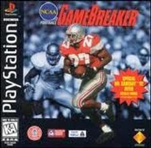 NCAA Football Game Breaker - PS1 Game