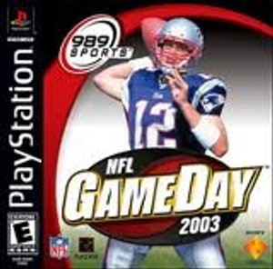 NFL GameDay 2003 - PS1 Game