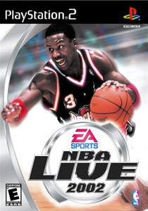 NBA Live 2002 - PS2 Game