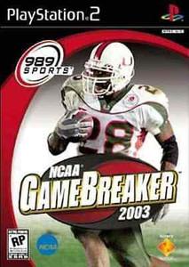 NCAA GameBreaker 2003 - PS2 Game