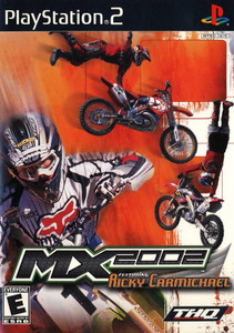 MX 2002 Ricky Carmichael - PS2 Game