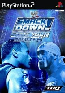 WWF Smack Down Shut Your Mouth - PS2 Game