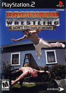 Backyard Wrestling Don't Try This At Home - PS2 Game