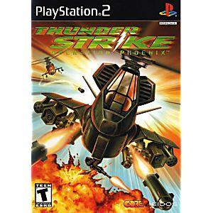 Thunderstrike Operation Phoenix - PS2 Game