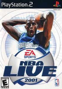 NBA Live 2001 - PS2 Game