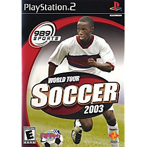 World Tour Soccer 2003 -PS2 Game