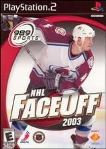 NHL Faceoff 2003 - PS2 Game