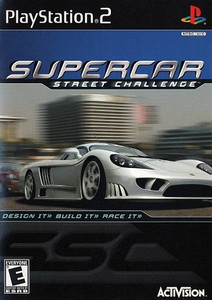 Supercar Street Challenge - PS2 Game