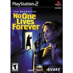 No One Lives Forever - PS2 Game