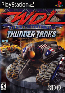 World Destruction League Thunder Tanks - PS2 Game