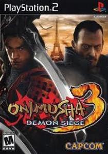 Onimusha 3 Demon Siege - PS2 Game