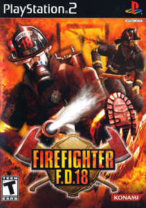 Firefighter F.D.18 - PS2 Game