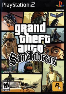 Grand Theft Auto San Andreas - PS2 Game