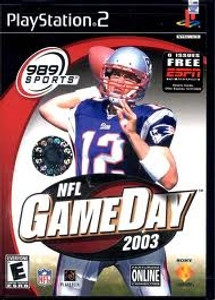 NFL Gameday 2003 - PS2 Game