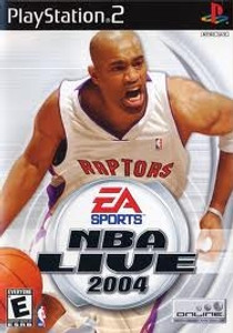 NBA Live 2004 - PS2 Game