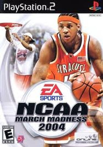 NCAA March Madness 2004- PS2 Game