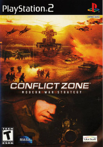 Conflict Zone Modern War Strategy - PS2 Game