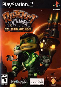 Ratchet & Clank Up Your Arsenal - PS2 Game