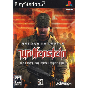 Return To Castle Wolfenstein - PS2 Game