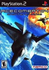 Ace Combat 04 Shattered Skies- PS2 Game