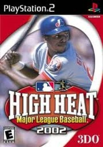 High Heat Major League Baseball 2002 - PS2 Game