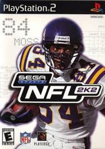 NFL 2K2 - PS2 Game