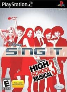 Sing It High School Musical 3 - PS2 Game w/Microphone