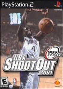 NBA Shoot Out 2001 - PS2 Game