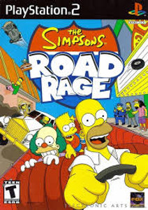 Simpson's Road Rage - PS2 Game
