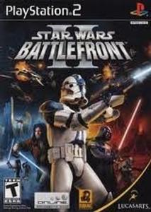 Star Wars Battlefront II- PS2 Game