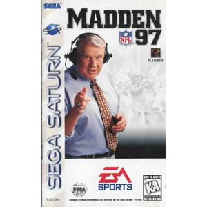 Madden 97 - Saturn Game