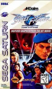 Street Fighter The Movie - Saturn Game