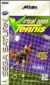 Virtual Open Tennis - Saturn Game