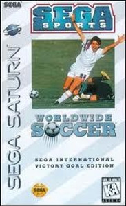 Complete Worldwide Soccer - Saturn Game