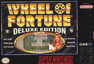 Complete Wheel of Fortune Deluxe Edition - SNES