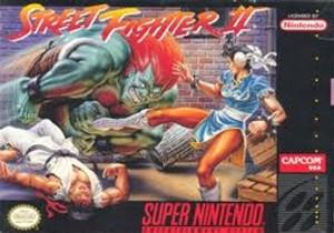 Complete Street Fighter II - SNES