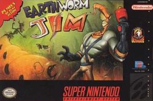 Complete Earthworn Jim - SNES