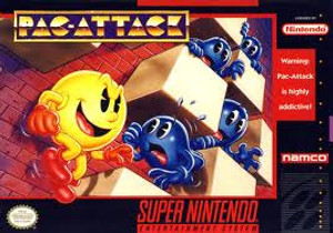 Complete Pac-Attack - SNES